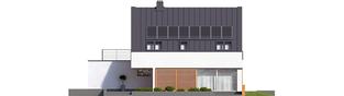Projekt domu Lars G1 (wersja B) ENERGO PLUS - elewacja tylna