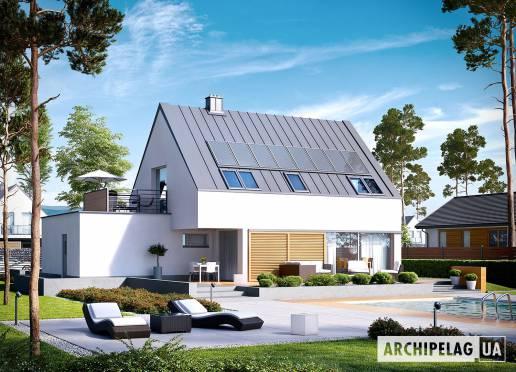 Проект будинку - Ларс (Г1, Енерго, версія Б) *