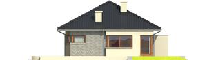 Projekt domu Tori II - elewacja prawa