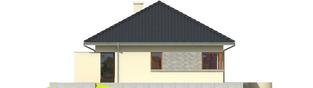 Projekt domu Tori II - elewacja lewa