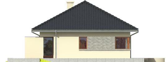 Tori II - Projekt domu Tori II - elewacja lewa