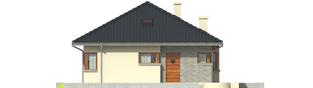 Projekt domu Tori II - elewacja frontowa