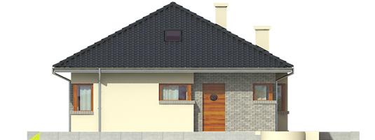 Tori II - Projekt domu Tori II - elewacja frontowa