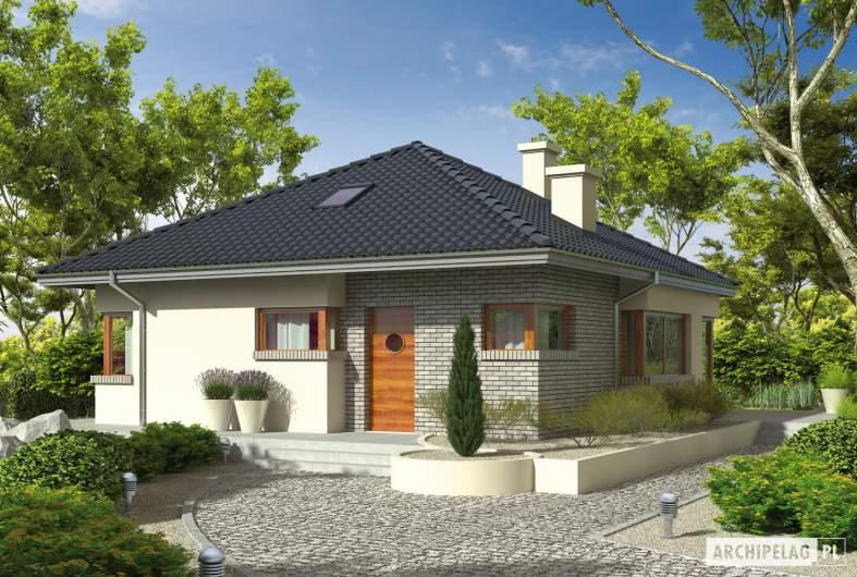 Projekt domu Tori II - wizualizacja frontowa