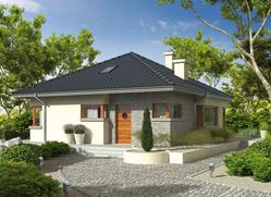 Projekt rodinného domu: Tori II