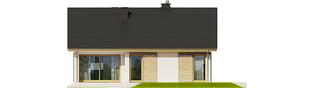 Projekt domu Rafael III - elewacja tylna