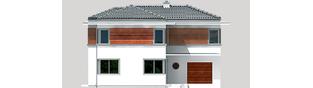Projekt domu Tom G1 - elewacja frontowa