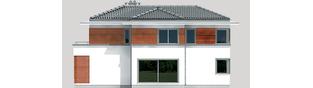 Projekt domu Tom G1 - elewacja lewa