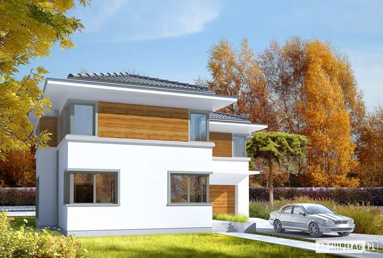 Projekt domu Tom G1 - wizualizacja frontowa