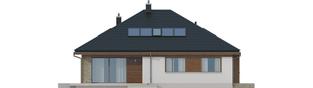 Projekt domu Flo II - elewacja tylna