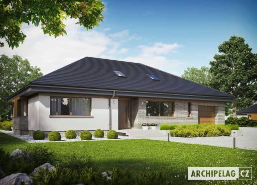 Projekt rodinného domu - Gabriel II G1