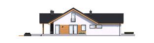 Projekt domu Simon G2 ENERGO PLUS - elewacja lewa