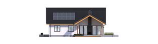 Projekt domu Simon G2 ENERGO PLUS - elewacja tylna
