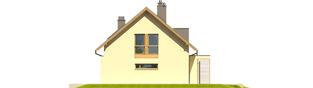Projekt domu Kamelia G1 - elewacja prawa