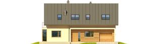 Projekt domu Kamelia G1 - elewacja frontowa