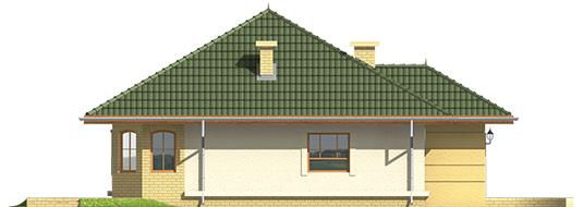 Kama - Projekt domu Kama - elewacja frontowa