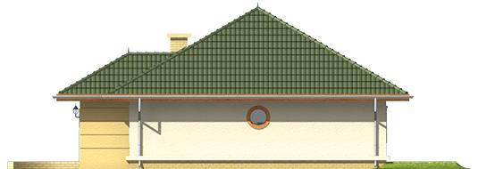 Kama - Projekt domu Kama - elewacja prawa
