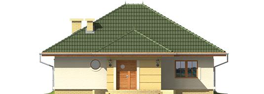 Kama - Projekt domu Kama - elewacja lewa