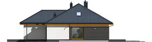 Projekt domu Astrid (mała) II G2 - elewacja prawa