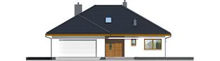 Projekt domu Astrid (mała) II G2 - elewacja frontowa