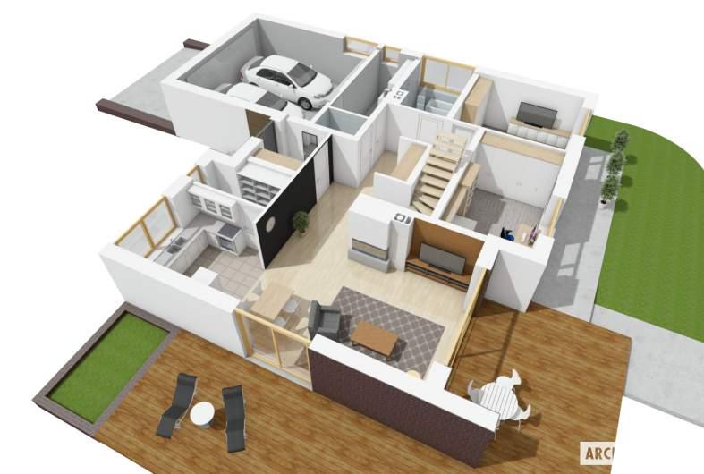 Projekt domu Astrid (mała) II G2 -