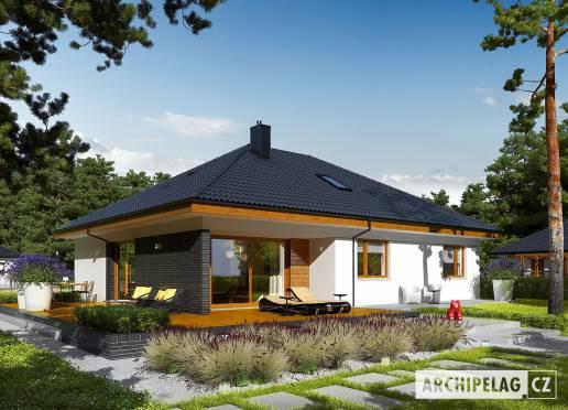 Projekt rodinného domu - Astrid (malá) II G