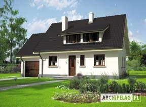 Projekt domu Calineczka G1 - animacja projektu