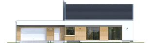 Projekt domu EX 11 G2 (wersja C) ENERGO PLUS - elewacja frontowa