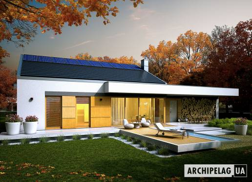 Проект будинку - Екс 11 (Г2, Енерго, версія В) *