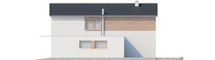 Projekt domu Feliks G1 - elewacja prawa