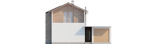 Projekt domu Feliks G1 - elewacja frontowa