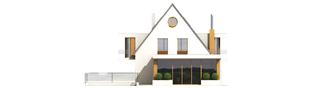 Projekt domu Damian G2 - elewacja frontowa