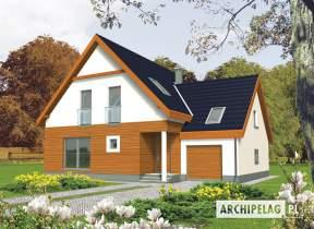 Projekt domu Fabrycja II G1 - animacja projektu