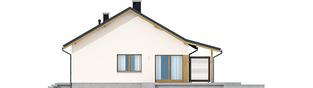 Projekt domu Elmo III ENERGO - elewacja prawa