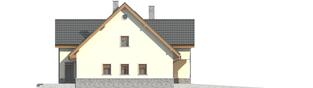 Projekt domu Samba G1 - elewacja lewa