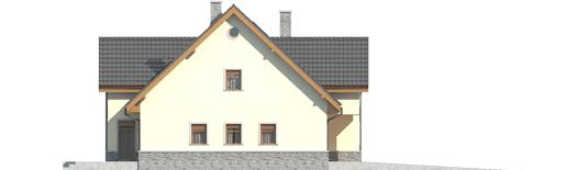 Samba G1 - Projekty domów ARCHIPELAG - Samba G1 - elewacja lewa