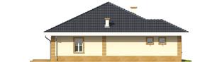 Projekt domu Linda G1 - elewacja lewa