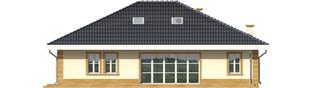 Projekt domu Linda G1 - elewacja tylna