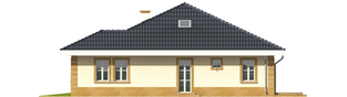Projekt domu Linda G1 - elewacja prawa
