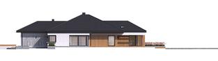 Projekt domu Karen G2 - elewacja prawa