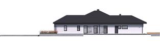 Projekt domu Karen G2 - elewacja lewa