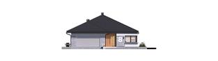 Projekt domu Karen G2 - elewacja frontowa