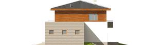Projekt domu Dao G2 - elewacja prawa