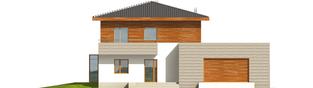 Projekt domu Dao G2 - elewacja frontowa