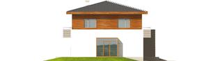 Projekt domu Dao G2 - elewacja lewa