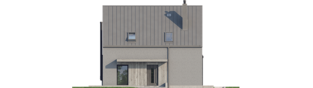 Projekt domu Mini 13 - elewacja frontowa