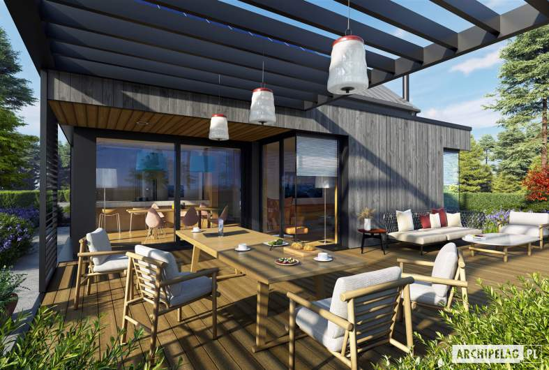 Projekt domu Mini 13 - detal