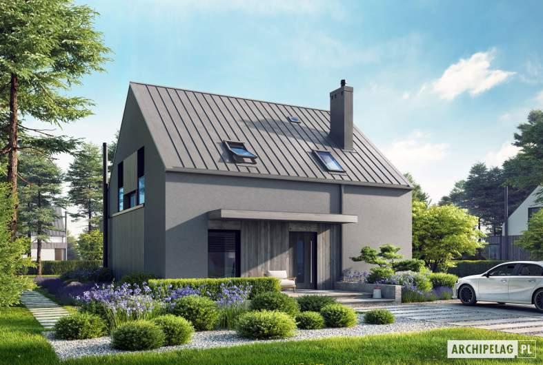 Projekt domu Mini 13 - wizualizacja frontowa