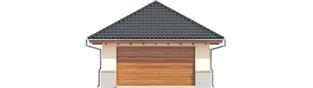 Projekt domu Garaż G18 - elewacja frontowa