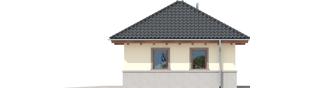 Projekt domu Garaż G18 - elewacja prawa